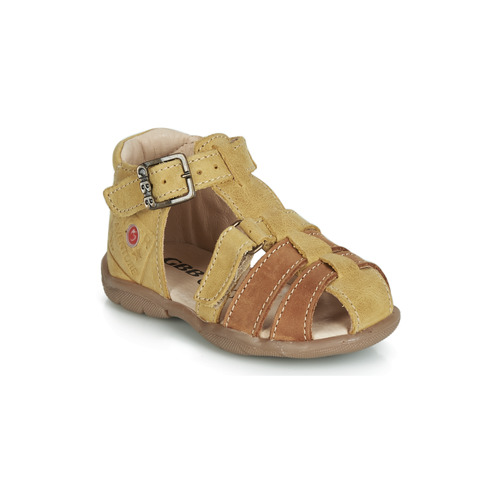 GBB PRIGENT Mostaza - Envío gratis | ! - Zapatos Sandalias Nino