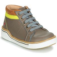 Zapatos Niño Zapatillas altas GBB QUITO Gris / Amarillo
