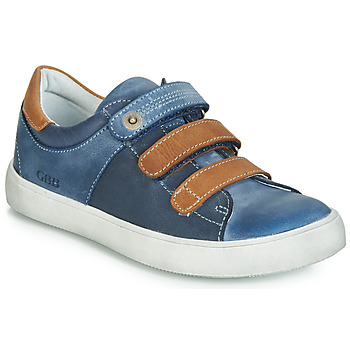 Zapatos Niño Zapatillas bajas GBB POMMOR Azul / Marrón