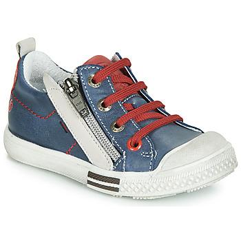 Zapatos Niño Zapatillas bajas GBB STELLIO Azul / Rojo