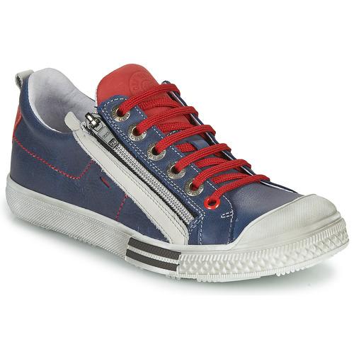 Zapatos Niño Zapatillas bajas GBB STELLIO Marino / Rojo