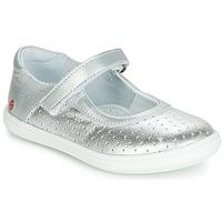 Zapatos Niña Bailarinas-manoletinas GBB PLACIDA Plata