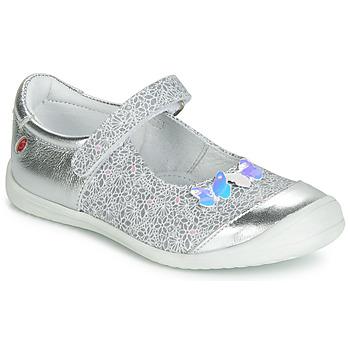 Zapatos Niña Bailarinas-manoletinas GBB SACHIKO Plata
