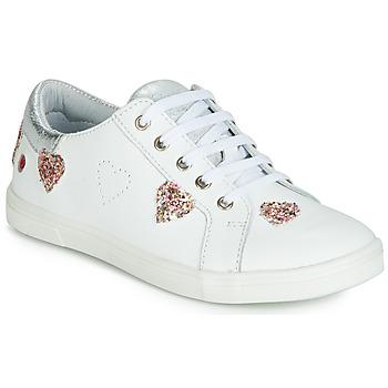 Zapatos Niña Zapatillas bajas GBB ASTOLA Blanco