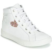 Zapatos Niña Zapatillas altas GBB MARTA Blanco / Multicolor