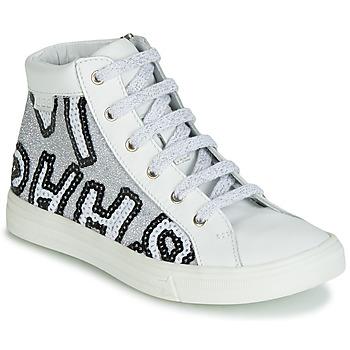 Zapatos Niña Zapatillas altas GBB MARTA Blanco