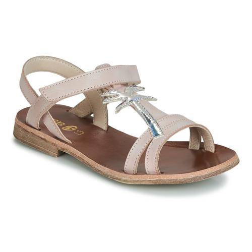 GBB SAPELA Rosa / Plata - Envío gratis | ! - Zapatos Sandalias Nino