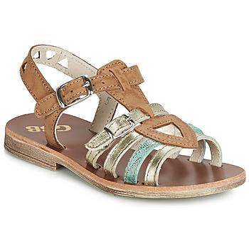Zapatos Niña Sandalias GBB FANNI Marrón
