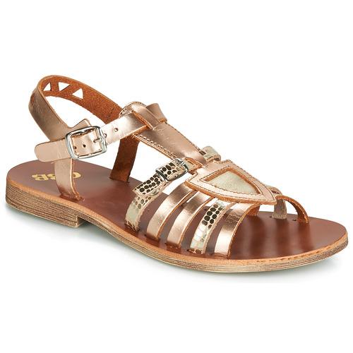 Zapatos Niña Sandalias GBB FANNI Bronce