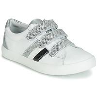 Zapatos Niña Zapatillas bajas GBB MADO Blanco / Plata