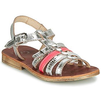 Zapatos Niña Sandalias GBB BANGKOK Plata / Rosa