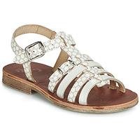 Zapatos Niña Sandalias GBB BANGKOK Beige / Blanco