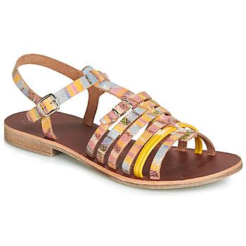 Zapatos Niña Sandalias GBB BANGKOK Multiple / Amarillo