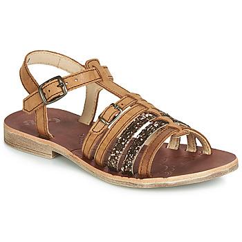 Zapatos Niña Sandalias GBB BANGKOK Cognac