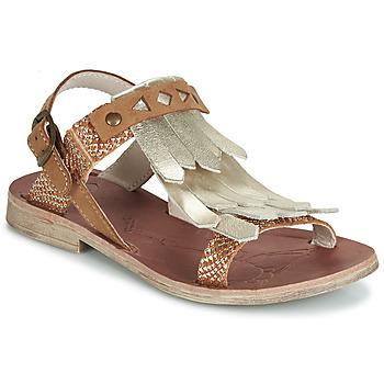 Zapatos Niña Sandalias GBB ACARO Marrón / Oro