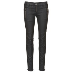 textil Mujer vaqueros slim Replay ROLETTE Negro