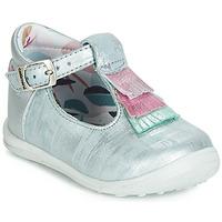 Zapatos Niña Bailarinas-manoletinas Catimini BIMA Vte / Azul / Acero-plata / Dpf / Gluck