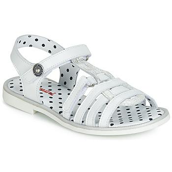 Zapatos Niña Sandalias Catimini MUNDA Blanco