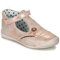Zapatos Niña Bailarinas-manoletinas Catimini SANTA Vte / Rosa / Dorado / Dpf / Kezia