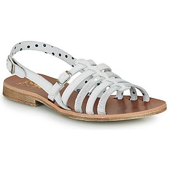 Zapatos Niña Sandalias Catimini NOBO Blanco