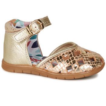 Zapatos Niña Bailarinas-manoletinas Catimini NAYA Oro