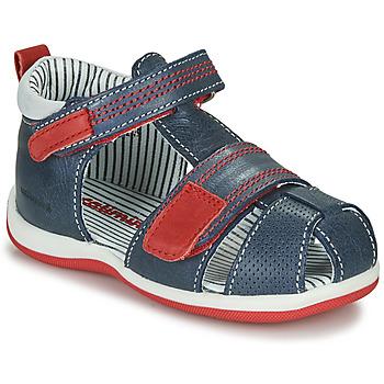 Zapatos Niño Sandalias Catimini BALIMO Marino / Rojo