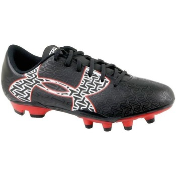 Zapatos Niños Fútbol Under Armour Clutchfit Force 20 FG JR Negro