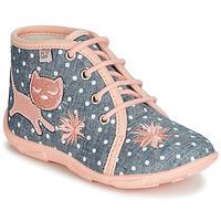 Zapatos Niña Pantuflas GBB MERMIDA Gris / Rosa