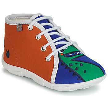 Zapatos Niño Pantuflas GBB MARCCO Naranja / Azul