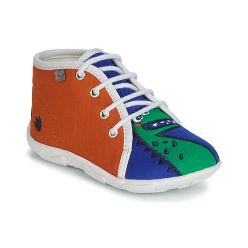 GBB MARCCO Naranja / Azul - Envío gratis | ! - Zapatos Pantuflas Nino