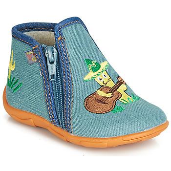Zapatos Niño Pantuflas GBB FERNANDO Azul