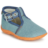 Zapatos Niño Pantuflas GBB SAPPO Azul / Jean