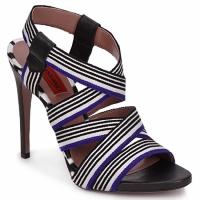Zapatos Mujer Sandalias Missoni RM19 Azul / Blanco