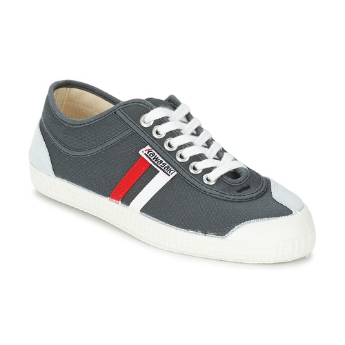 Zapatos Hombre Zapatillas bajas Kawasaki RETRO CORE Gris / Rojo / Blanco / Rayas