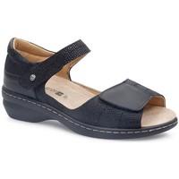 Zapatos Mujer Sandalias Calzamedi FASHIO NEGRO