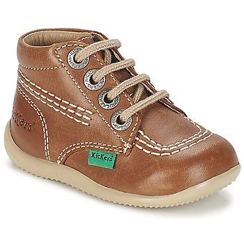 Zapatos Niños Botas de caña baja Kickers BILLY Camel