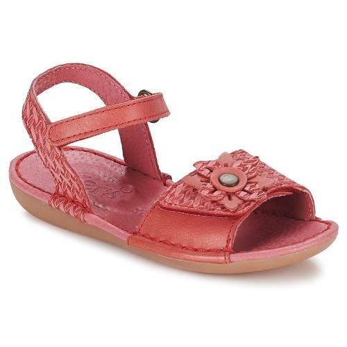 Zapatos Niña Sandalias Kickers EVANA Rosa / Coral