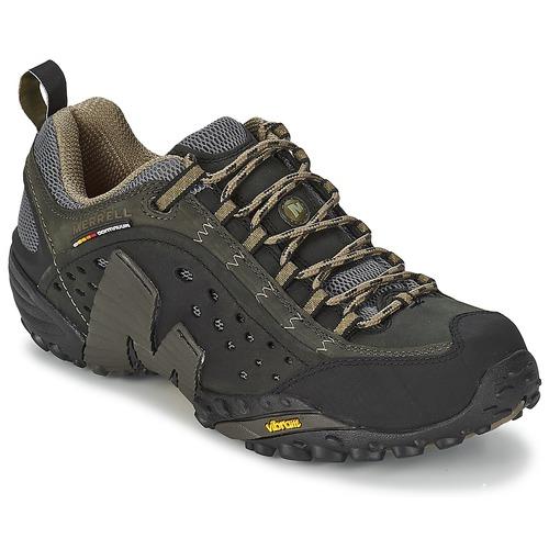 Zapatos especiales para hombres y mujeres Merrell INTERCEPT Negro