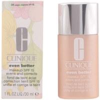 Belleza Mujer Base de maquillaje Clinique Even Better Fluid Foundation 04-cream Chamois  30 ml