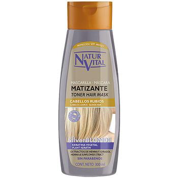 Belleza Mujer Acondicionador Naturaleza Y Vida Mascarilla Matizante Silver Blonde  300 ml