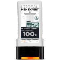 Belleza Hombre Productos baño L'oréal Men Expert Gel De Ducha Hydra-sensitive Calmante L'Oreal Make U