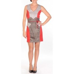 textil Mujer Vestidos cortos Dress Code Robe Fraise rouge/gris/anthracite Rojo