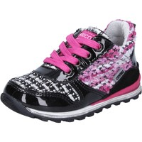 Zapatos Niña Zapatillas bajas Enrico Coveri sneakers multicolor charol textil BX830 multicolor