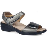 Zapatos Mujer Sandalias Calzamedi S  ELIGIA PLATA