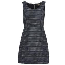 textil Mujer vestidos cortos Tom Tailor BLANKA Marino / Blanco