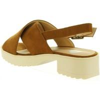 Zapatos Niña Sandalias Destroy K115745 Marrón