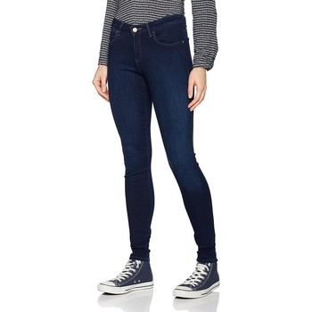 textil Mujer Vaqueros slim Wrangler Super Skinny True Beauty W29JBV94Z azul marino