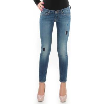 textil Mujer Vaqueros slim Lee Lynn Skinny L357DNXA azul