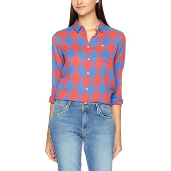 textil Mujer Camisas Lee Ultimate Shirt L47ISISG Multicolor