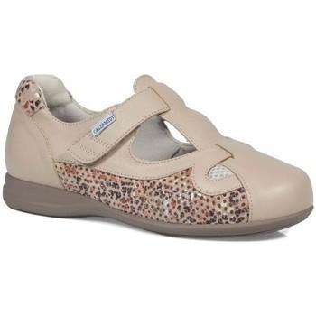 Zapatos Mujer Derbie & Richelieu Calzamedi ESPECIAL DIABETICO BEIGE